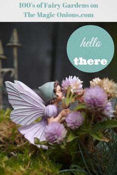 Photos of hundreds of magical Fairy Gardens