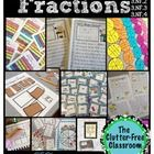 This packet contains over 150 pages of materials to use when teaching students about fractions.  It includes a detailed explanation with photos of how I used these activities in my classroom. The packet can be used as a complete unit or to supplement your current curriculum. It includes hands-on materials, visual aides for the classrooms, games, activities, writing projects, center activities, task cards bulletin board materials and more!