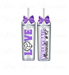 Volleyball, Volleyball Gifts, Volleyball Cup, Volleyball Tumbler, Volleyball Water Bottle, Volleyball Mom, Volleyball Coach, Personalized - pinned by pin4etsy.com