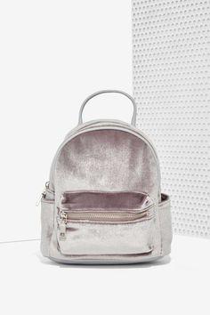 Margot Velvet Mini Backpack//