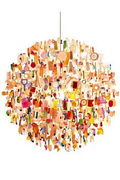 "Lamp ""Tide"" by Stuart Haygarth as seen in Elle Decoration"