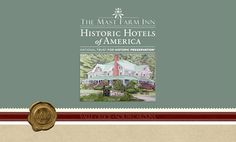 The Mast Farm Inn is a Historic Hotels of America boutique hotel. Historic Hotels of America is the official program of the National Trust for Historic Preservation for recognizing and celebrating the finest Historic Hotels.