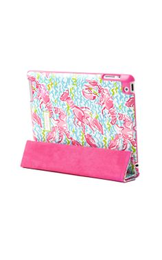 Lilly Pulitzer iPad Smart Cover in Lobstah Roll