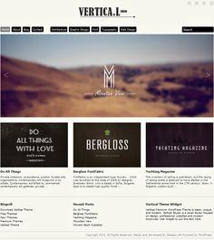 Premium Vertical WordPress Theme