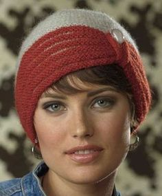 Knitting Pattern for Zelda Cloche