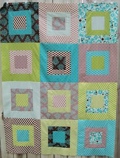 kelbysews: Sara² quilt - easy with fat quarters