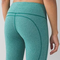 LuLuLemon wunder unders stripes These Wunder Unders are cotton full length, gorgeous pants!! Only tried on.. Grab them from me before I change my mind lol.. On Merc lululemon athletica Pants Leggings