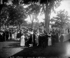 Reception for the Prince of Wales at Rideau Hall in Ottawa, Ontario during royal visit to Canada, August 1919 / Réception donnée en l'honneu...