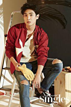 Lee Joon - Singles Magazine August Issue '16