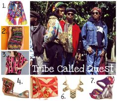 Global style/tribal trends inspired by Tribe Called Quest
