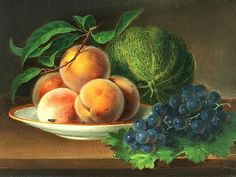 George Forster, Still Life with Fruit, 1868