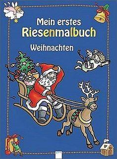 BUCH - Mein erstes Riesenmalbuch. Weihnachten - Brigitta Nicolas