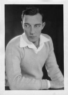 A young, Buster Keaton...so Beautiful!