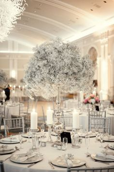 babysbreath+centerpieces | baby's breath centerpieces | If i could remarry my huband everyday