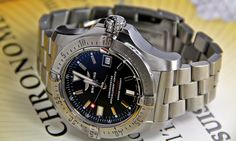 Breitling Seawolf, Cool Watches, Watches For Men, Watch Master, Swiss Made Watches, Watch Brands, Menswear, Accessories, Design