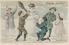 Jodie Lee Designs: Happy New Year! Free Vintage Postcards!