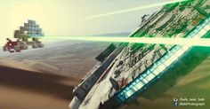 Space Wars VII #starwars #forceawakens #spaceinvaders #jjabrams #millenniumfalcon #shot #laser #ufo #tiefighter #sith #hansolo #funnypictures #photomanipulation #bobphotography