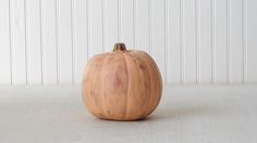 If you like a rustic finish, this is the pumpkin for you.