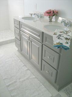 Grey vanity- seen @ tenjuneblog