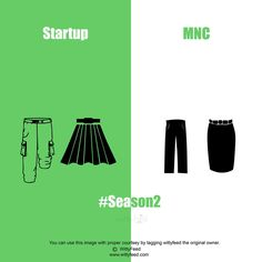 10+ Simple Illustrations Shows the Difference Between a Startup and an MNC