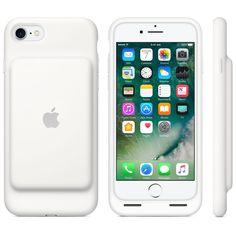 Smart Battery Case till iPhone 7 – vit Iphone 8 e7eb62adddce7