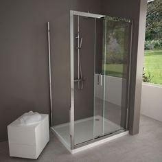 Cabine de douche coulissante Water, 100 à 160 cm