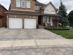 Imperial Stone and Design is a quality, full service design and landscaping company serving Milton, Oakville, and Burlington, Ontario. Landscaping Company, Driveways, Service Design, Ontario, New Homes, Patio, Stone, Architecture, Outdoor Decor