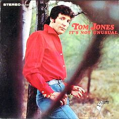 """""""It's Not Unusual"""" (1965, Parrot) by Tom Jones.  His first LP."""