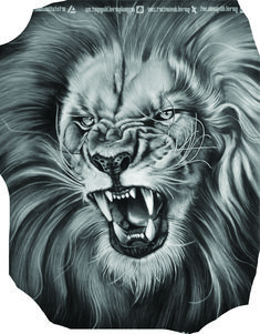 The King drawing by Garvel Art from Valencia, Spain Lion Head Tattoos, Mens Lion Tattoo, King Tattoos, Tiger Tattoo, Cat Tattoo, Tattoo Drawings, Body Art Tattoos, Lion Images, Lion Pictures
