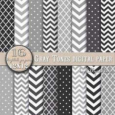 Free Digital Paper Pack FREE digital paper gray chevron (black grey chevron polka dot pattern background) DL The post Free Digital Paper Pack appeared first on Paper ideas. Free Digital Scrapbooking, Digital Scrapbook Paper, Digital Paper Freebie, Printable Scrapbook Paper, Printable Paper, Digital Papers, Scrapbooking Layouts, Papel Chevron, Gray Chevron