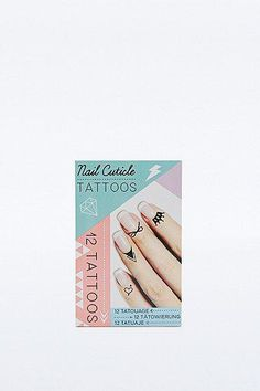 Natural Products Cuticle Tattoos in Black #covetme #naturalproducts
