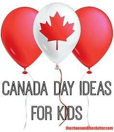 Ideas for celebrating Canada Day with kids including food, crafts, learning, and sensory play. Canada Day Party, Canada Day 150, Happy Canada Day, Canada Birthday, 7th Birthday, Canada Day Crafts, All About Canada, Activities For Kids, Crafts For Kids