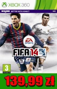 FIFA 14 PL XBOX X360 BOX FOLIA