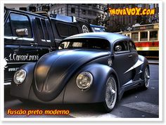 VW Beetle modified