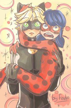miraculous ladybug adrien x marinette - Google Search