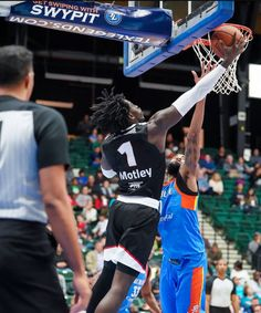 Jonathan Motley Baylor product playing for the Texas Legends his rookie year. 2017-2018