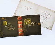 Fairytale Fable in Wedding Stationery