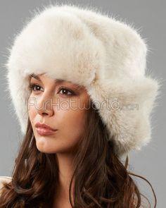 f5aa69dbf24 The Sochi Faux Fur Ladies Russian Hat in Buff