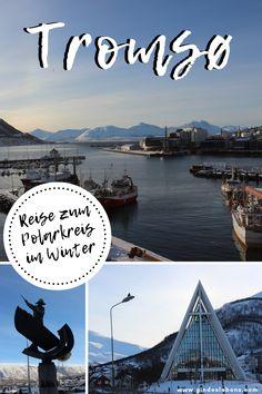 Tromsø – Venedig des Nordens. Tromsø ist die 8. größte Stadt Norwegens und die größte Stadt im Norden des Landes. Sie wird auch als Venedig des Nordens bezeichnet und befindet sich nördlich des Polarkreises. Tromsø hat über 70.000 Einwohner und ist die flächengrößte Stadt Norwegens. Tromsø ist auch der perfekte Ort um die Aurora Borealis (Nord- oder Polarlichter) zu sehen. Reisebericht, Hotel, Tipps und Sehenswertes auf www.gindeslebens.com #Tromso #Norwegen #Polarkreis #Nordlichter