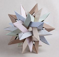 JC Nolan is raising funds for Creating Origami: A Foldable Sonata in Paper on Kickstarter! Ever wondered how they come up with those amazing origami designs? Origami Modular, Diy Origami, Origami Ball, Origami Simple, Origami Paper Folding, Origami Star Box, Origami And Kirigami, Useful Origami, Origami Stars