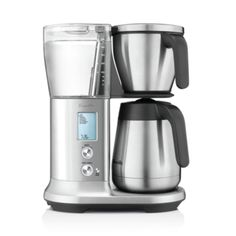 Sage The Precision Brewer Glass Filter Koffiezetapparaat Thermal Coffee Maker, Drip Coffee Maker, Breville Espresso Machine, Camping Coffee, Latte Macchiato, Coffee Spoon, Great Coffee, Brushed Stainless Steel, Kitchen Essentials
