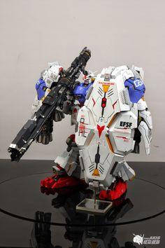 """G-System 1/60 RX-78 GP02A Gundam """"Physalis"""" - Painted Build     Images via blog.naver.com"""
