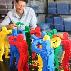 Incredible LEGO Artist...
