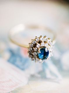 25 Colored Engagement Rings to Covet - Style Me Pretty