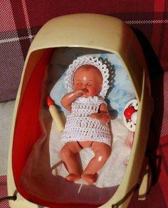 U Vintage Dollhouse, Dollhouse Dolls, Hello Dolly, Strollers, Christmas Ornaments, Retro, Toys, Holiday Decor, Home Decor