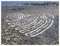 Samish Bay Bivalve Bash 2008 - Oyster Shell Sculpture by Whitney Krueger