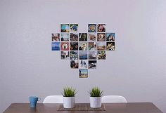 The Secret to Making the Perfect Photo Heart Collage