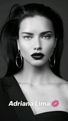 Foto Portrait, Portrait Photography, Fashion Photography, Beauty Portrait, People Photography, Max Azria, Adriana Lima Face, Adriana Lima Makeup, Adriana Lima Style
