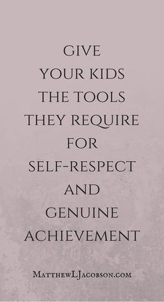 In life, everyone doesn't automatically get a trophy. How do you teach kids to work hard so they can have self-respect and succeed with good character in a competitive world? (Step Father Little Girls) Train Up A Child, Christian Families, Parenting Articles, Love My Kids, Me Quotes, Qoutes, Happy Mom, Christian Parenting, Encouragement Quotes