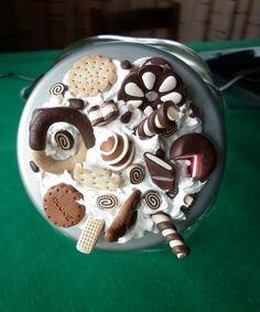 Oggetti per la casa Fimo Pasta Flexible, Clay Art, Fondant, Sewing Crafts, Biscuits, Polymer Clay, Jewelery, Jar, Desserts